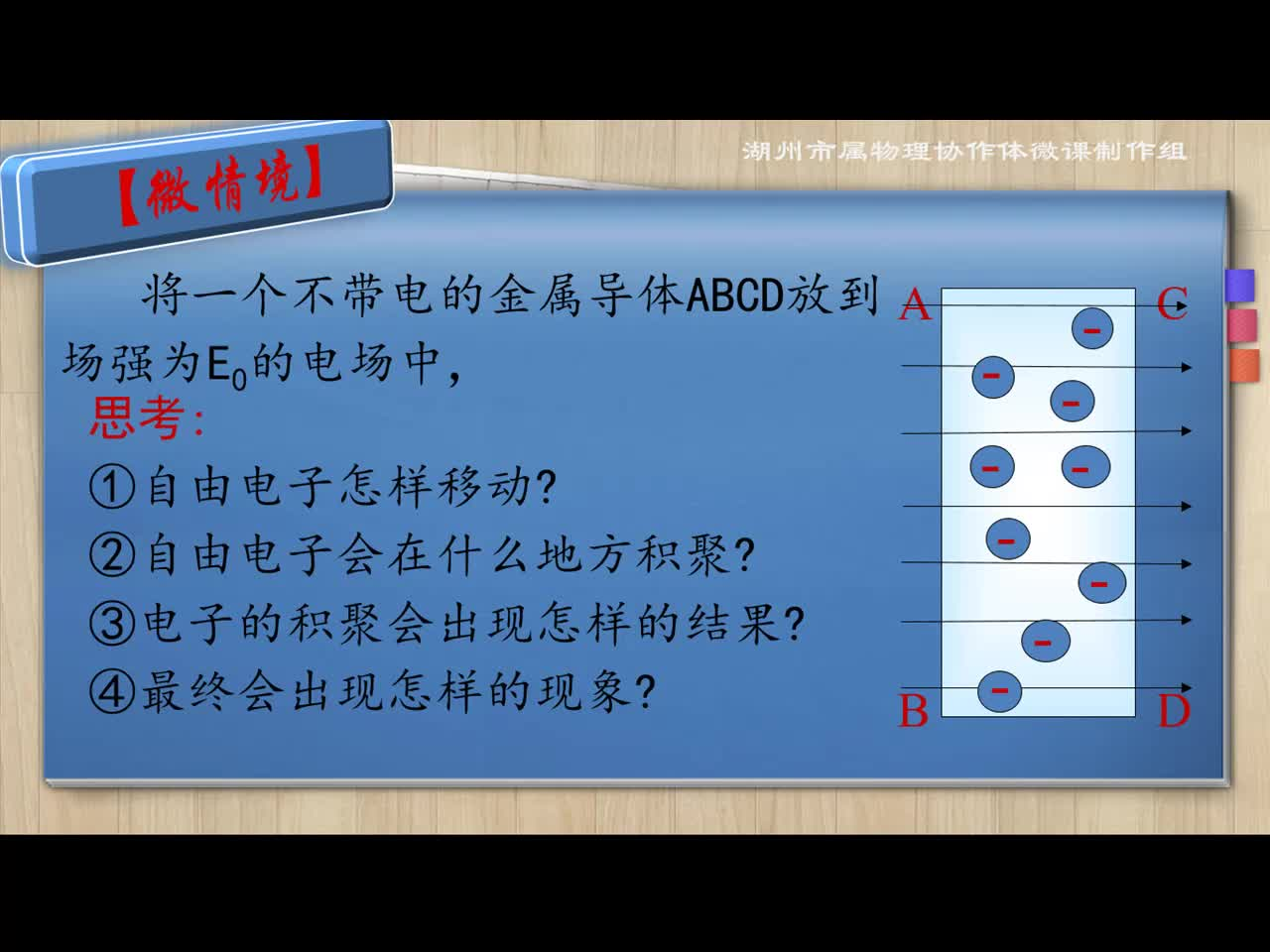 【名师微课】高中物理(人教版)选修3-1微课视频:静电现象的应用